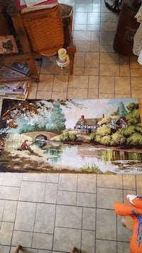 vintage large picture rug..nice 27x51 Hagerstown, 21740
