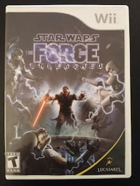 Star Wars the Force Unleashed for Nintendo Wii  Vaughan, L4L