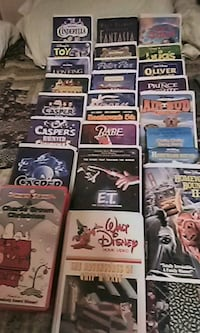 26 Disney's VHS TAPES $1 each.