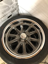 Brand new deep dish wheels 64 Ford Falcon Mustang  35 km