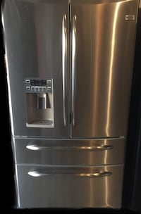 GE Stainless steel french door refrigerator Bryans Road, 20616