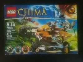 Lego Chima Lavals Royal Fighter #70005