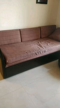 Sofa cum bed, used for 5 years.Comes with storage Mumbai