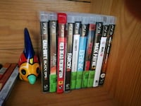 assorted Xbox 360 game cases Oakville, L6M 4N8