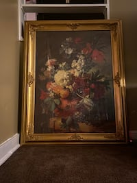 Floral Oil Painting (Gold Inlay Frame) Charleston, 29407