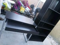 Bookcase and desk. Combo Downey, 90242