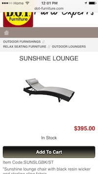2 black and grey out door loungers Durham
