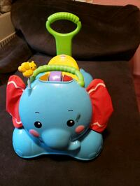 Elephant ride on toy