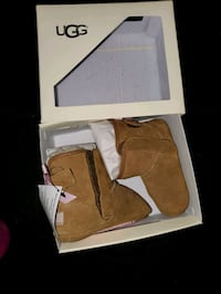 Baby girl pink bow uggs  Aston, 19014