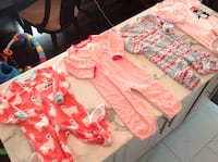 3 new and one just like new girls size 24 months/2t pjs London, N5W 3T7