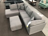 New Couch Sectional. Grey. Free Delivery ! Anaheim