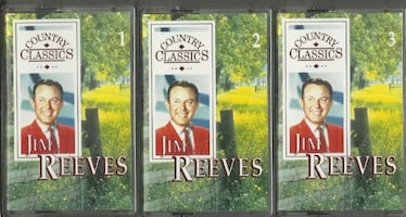 Jim Reeves 3 Cassettes Country Classics Readers Digest  Like New Condi