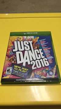 Just Dance 2015 Xbox One game case Fairfax Station, 22039