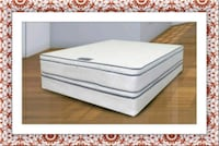 Queen mattress double pillowtop free box and ship McLean