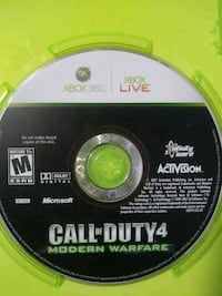Xbox 360 Call of Duty Ghosts game disc Lancaster, 93534