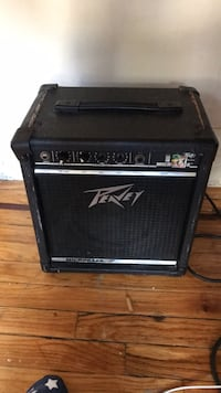 black and gray Peavey guitar amplifier New York, 10472