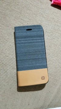 Fabric leather phone case.  Kelowna, V1Y 3P9