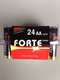 AA batteries, 24 per package, over 10 packages   Toronto, M3A 2J8