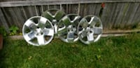Four chrome 5-spoke car wheel covers McSherrystown, 17344