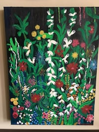 FLORAL EXPLOSION Oil painting Ottawa, K1S 4L8