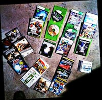 Video game lot. Includes free Xbox 360 KINNECT  Des Moines, 50315