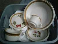 Dishes  with strawberry motif Murray, 84107