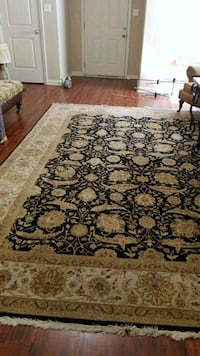 brown and black floral area rug North Little Rock, 72118