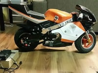 Electric Pocket Bike 558 km