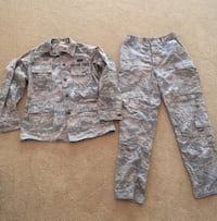 Camouflage - Air Force Cammo top and pants  Fair Oaks, 95628