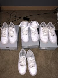 Size 7 air forces  Louisville, 40216