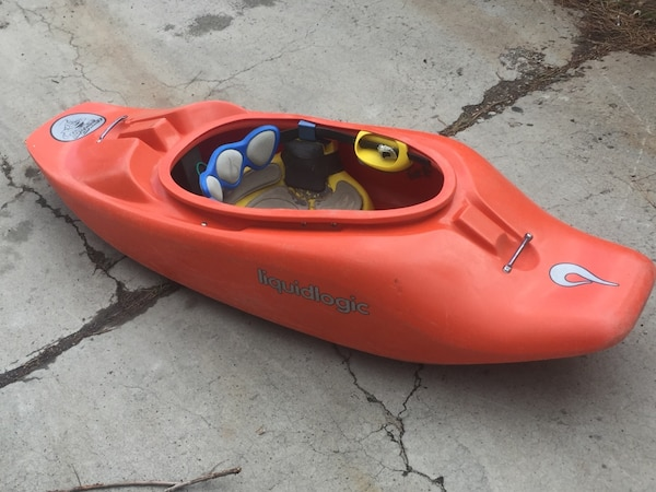 Whitewater Kayaks For Sale >> Used Whitewater Kayak Liquid Logic Space Cadet For Sale In Reno Letgo