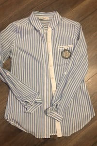 Blue striped long sleeve (S) Toronto, M4P 3H6