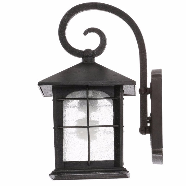 Used Home Decorators Collection Brimfield 1 Light Aged Iron Outdoor Wall  Lantern For Sale In Plano