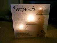 Footprints in the Sand Decor  Shelbyville, 46176