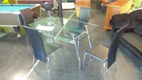 green and white patio table set Bridgeport, 06606