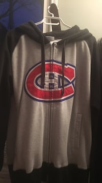 gray and black zip-up hoodie St. John's, A1E 4K7