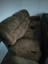 brown suede recliner sofa chair Richmond, 23223