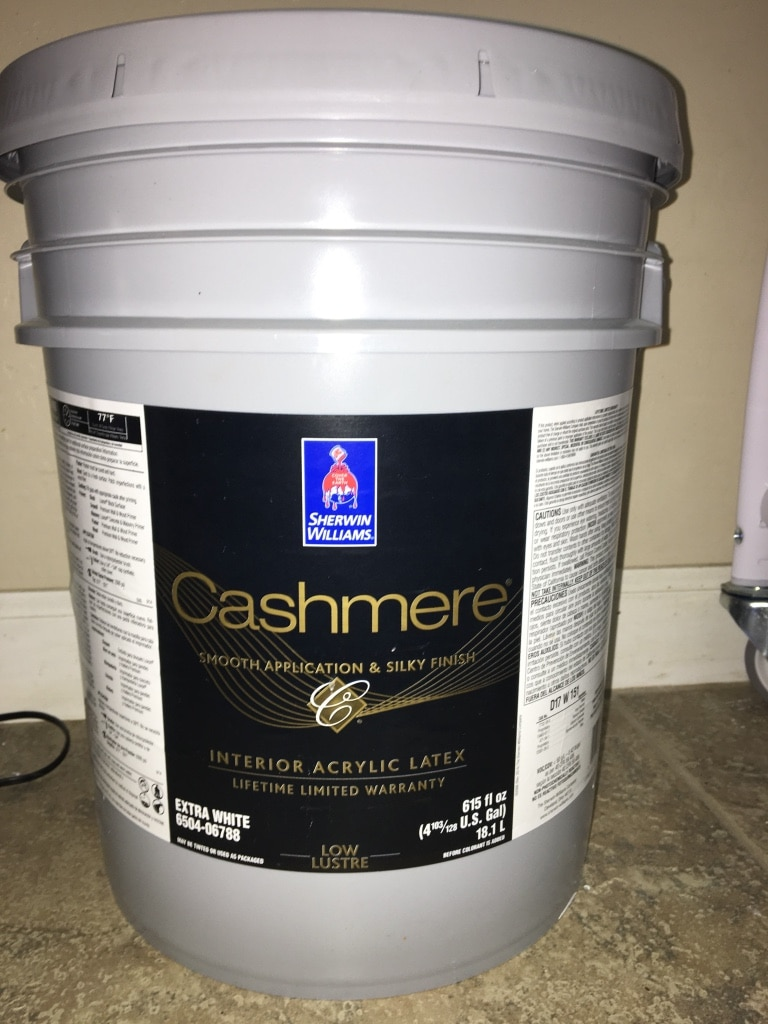 5 Gallon Interior Paint, Agreeable Gray, Sherwin Williams