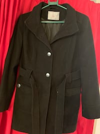 Black coat Dorothy Perkins size 14 for women Vancouver, V5R 5R2