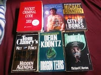 6 books $6.00 for all  Calgary, T2K 3Z1