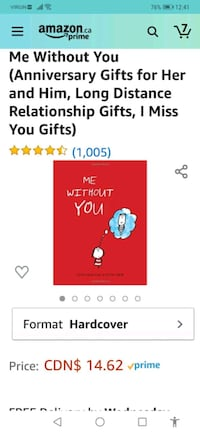 Me without YOU - Book for Couples