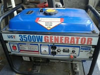 blue and black portable generator Los Angeles, 90032