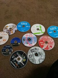 assorted Gamecube+ Wii and PlayStation 2 games Bakersfield, 93304
