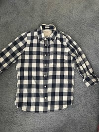Mens Abercrombie & Fitch NY Muscle plaid long sleeve dress shirt Renton, 98056