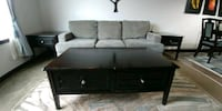 Coffee table with 2 end tables  De Winton, T0L 0X0