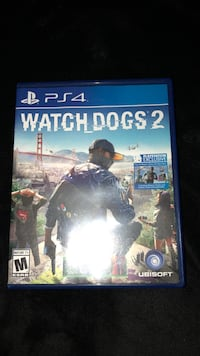Sony ps4 watch dogs 2 case Palm Bay, 32909