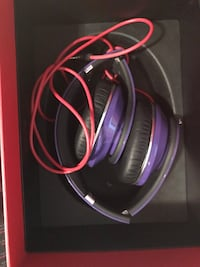 Beats studio solo purple used once great condition Eastlake, 44095