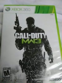 Call of Duty MW3 Xbox 360 game case Traverse City, 49685
