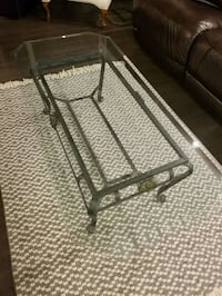 Glass coffee table - set of 3  Mississauga