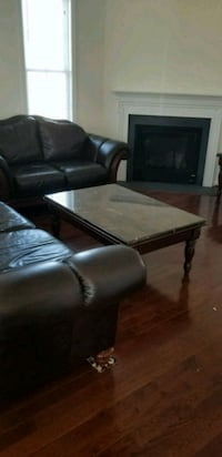Vintage leather couch set with matching table set Bealeton, 22712